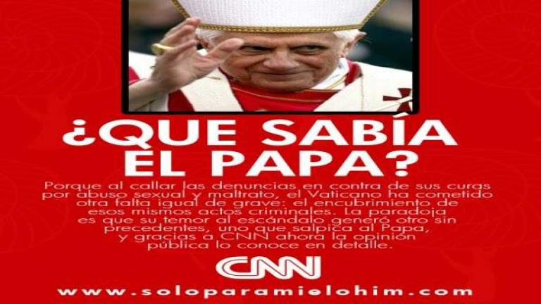 Que Sabia el Papa, Benedicto XVI? - Documental de CNN