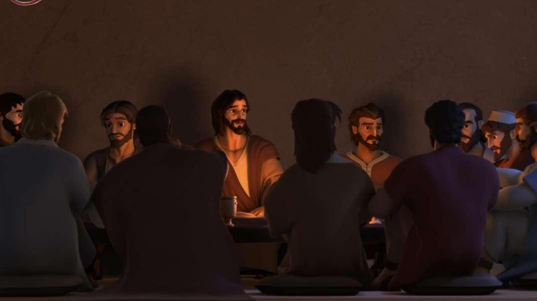 La Ultima Cena - Super Libro | Caricaturas Cristianas