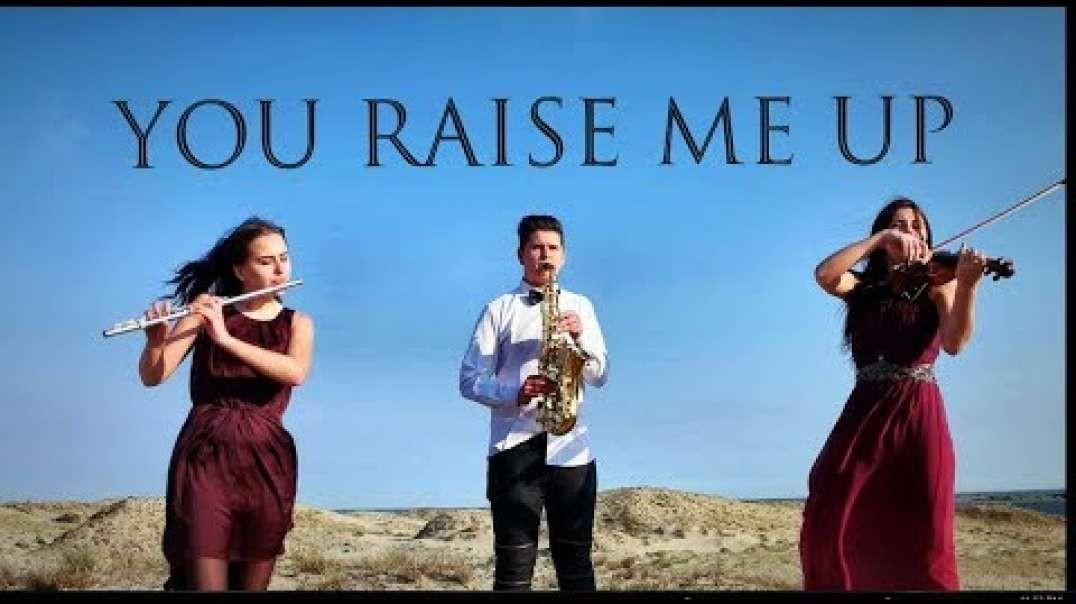 Tu me levantas (violin/flute/saxophone cover) - ANA'Trio