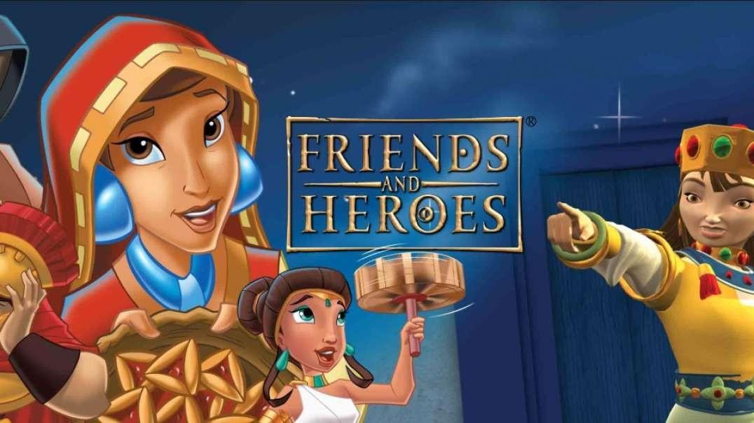 17 Rescatando extraños - Serie Amigos y Heroes