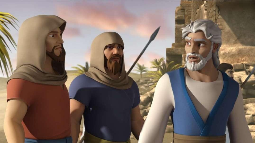 Rahab y Las Murallas de Jerico - Super Libro | Caricaturas Cristianas