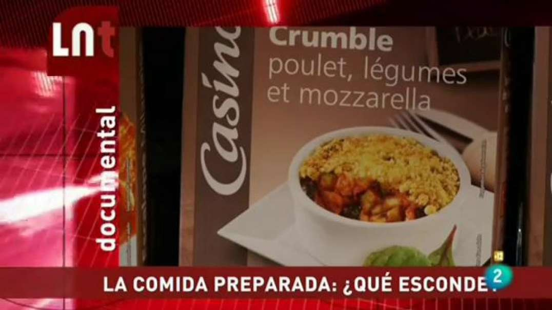 La comida preparada, ¿que esconde? | La Noche Tematica - Documental
