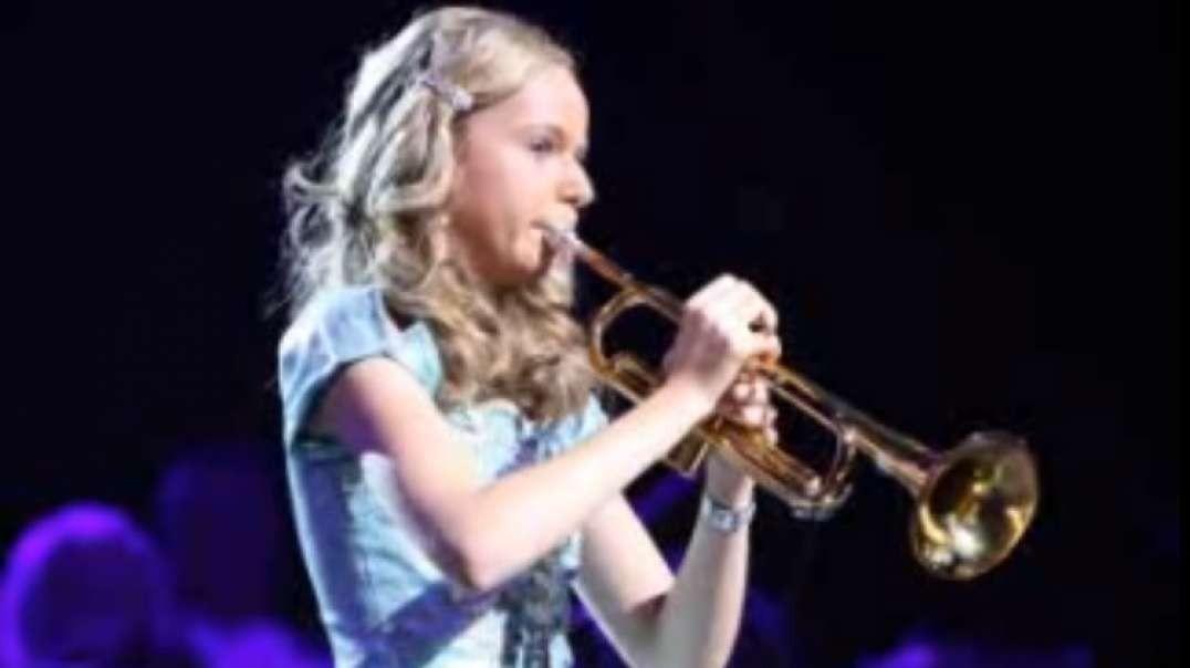 Tu me levantas - You raise me up | Trompeta por Melissa Venema (14 anios)