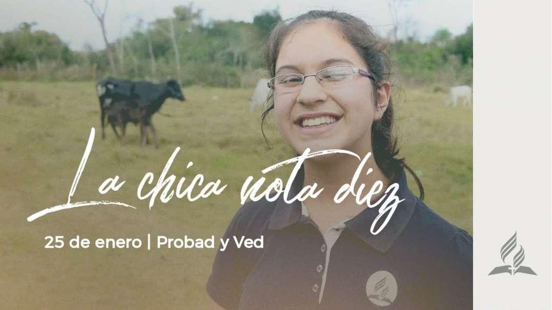 25 de Enero - La Chica nota diez | PROBAD Y VED 2020