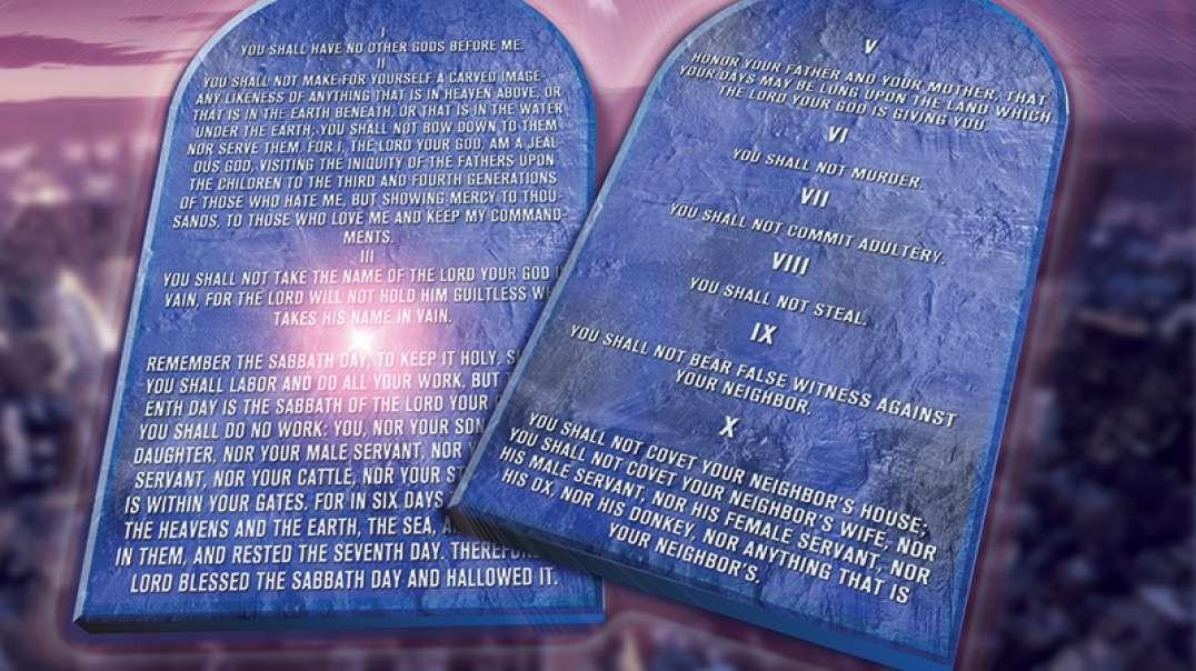 Material De Los 10 Mandamientos - Diez Mandamientos Las Tablas